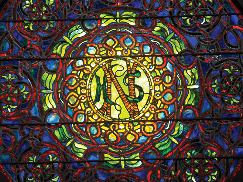 Myra Clare Rogers Chapel stainglass